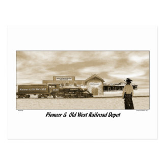 P&OW RR POST CARD