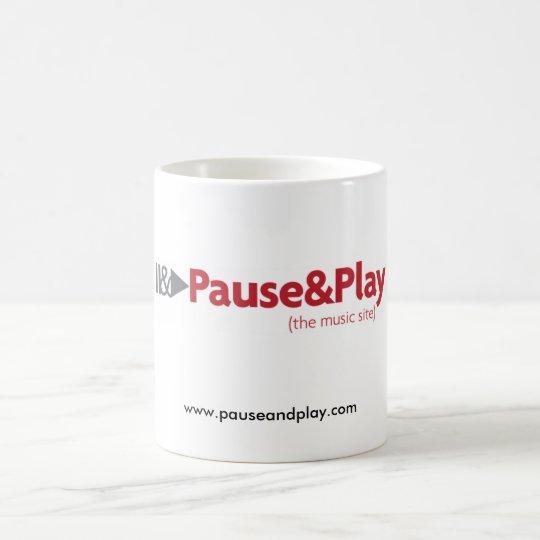 P&P coffee mug