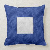 P Papa Watercolor Nautical Signal Maritime Flag Throw Pillow