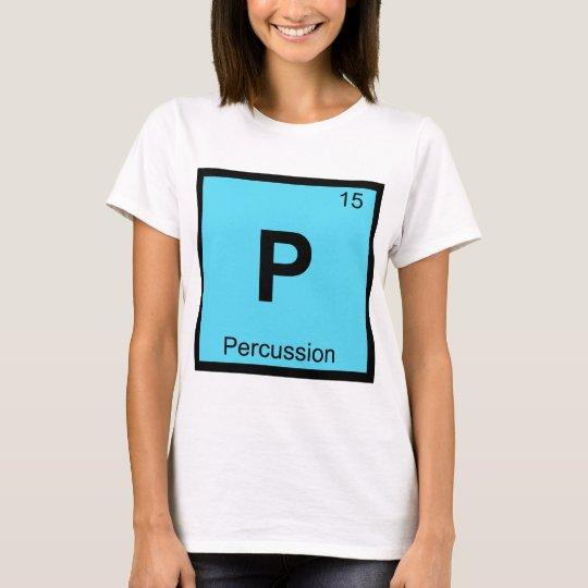 P percussion chemistry periodic table symbol t shirt zazzle p percussion chemistry periodic table symbol t shirt urtaz Images