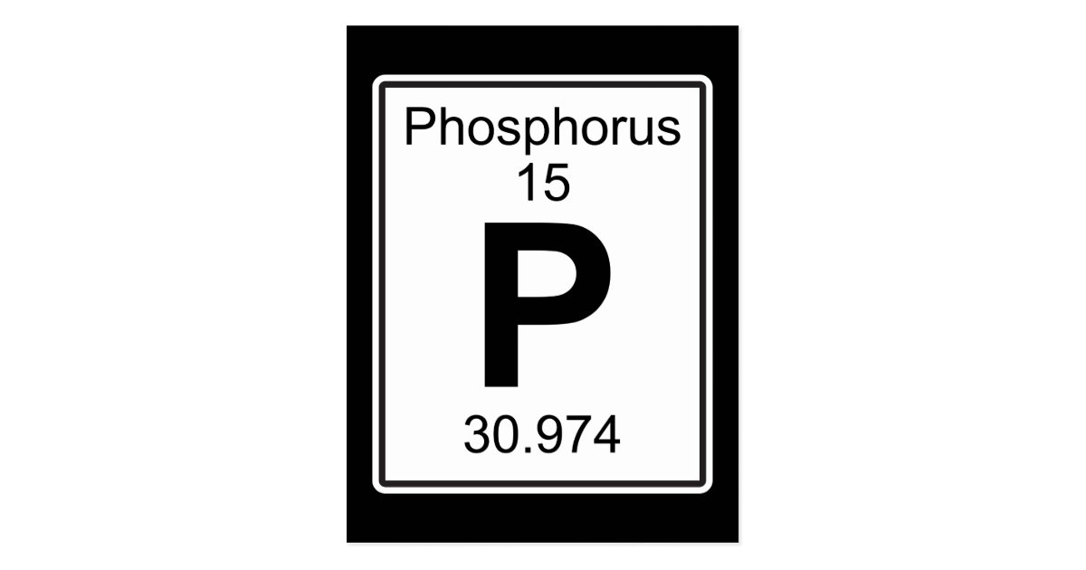 Periodic table what is phosphorus in the periodic table periodic periodic table phosphorus gifts on zazzle urtaz Image collections