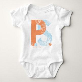 P.S. I Love You Baby Bodysuit
