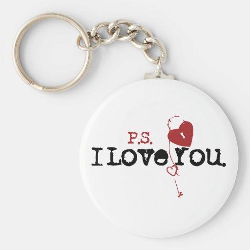 P.S. I Love You Keychain