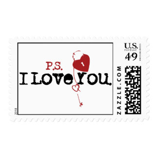 P.S. I Love You Stamp