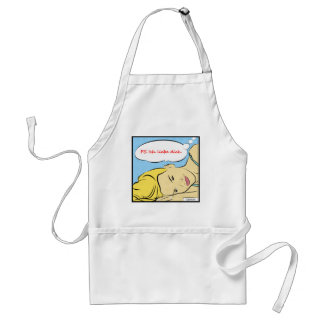 P.S Ich liebe dich Adult Apron