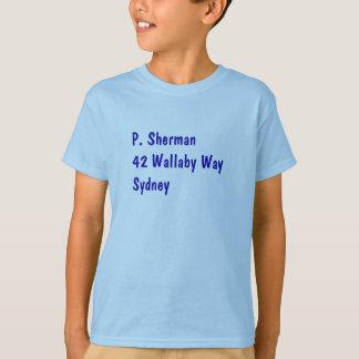 P. Sherman Nemo shirt