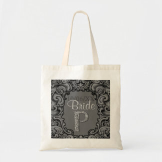 P - The Falck Alphabet (Silvery) Tote Bag