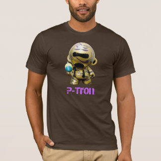 P-Tron Laser - Brown t-shirt