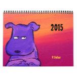 P.Volker's 2015 Vintage Volker Calendar