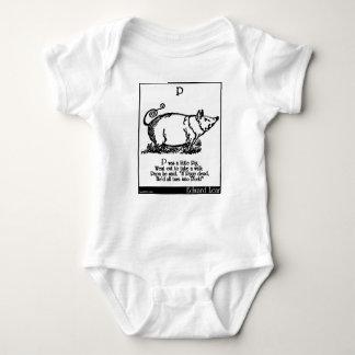 P was a little Pig T Shirt