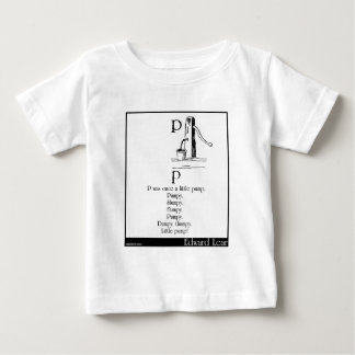 P was once a little pump tshirt