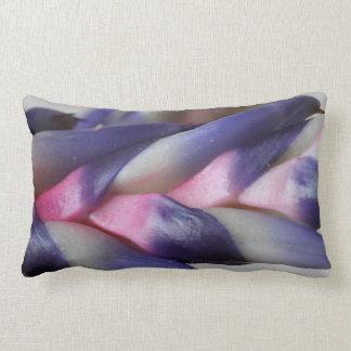© P Wherrell Aechmea bromeliad unusual flower Lumbar Pillow