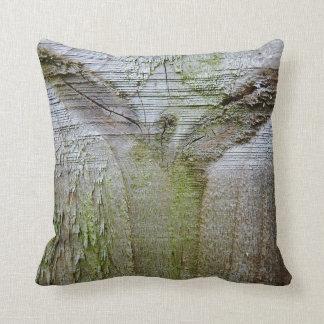 © P Wherrell Angel of wood spiritual unusual photo Throw Pillow