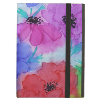 ©  P Wherrell Beautiful Fine Art painting anemones Cover For iPad Air