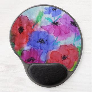 ©  P Wherrell Beautiful Fine Art painting anemones Gel Mousepad