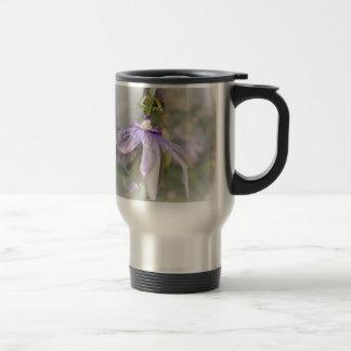 © P Wherrell Beautiful pale purple passion flower Coffee Mugs
