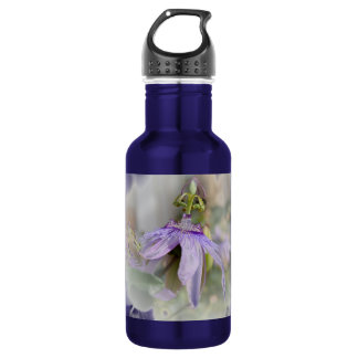 © P Wherrell Beautiful pale purple passion flower Stainless Steel Water Bottle