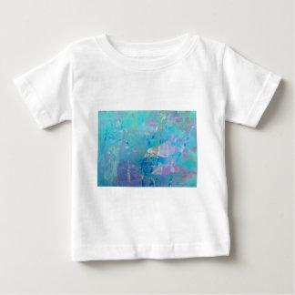 © P Wherrell Contemporary digital art dolphins Baby T-Shirt