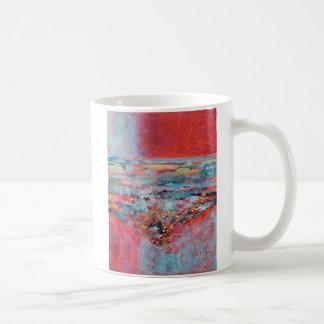 © P Wherrell Contemporary fine art abstract Coffee Mug