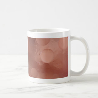 © P Wherrell Contemporary salmon circles abstract Coffee Mug