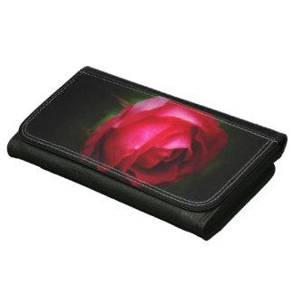 © P Wherrell Dreamy red rose fine art photograph Women's Wallets