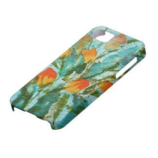 © P Wherrell Fine art painting spring tulips iPhone 5 Case