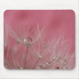 © P Wherrell Girly pink photo dandelion seeds Mouse Pad