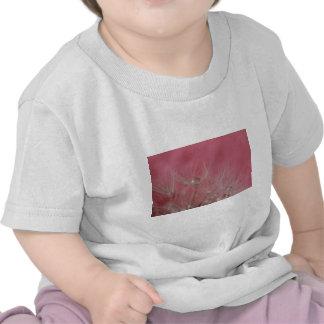 © P Wherrell Girly pink photo dandelion seeds Tee Shirt