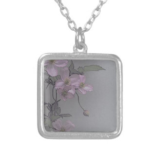 © P Wherrell Gorgeous stylish pale pink clematis Jewelry