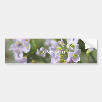 © P Wherrell I love you Lady's smock photo Bumper Sticker