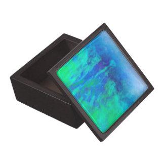 © P Wherrell  Impressionist Fine art photo bud Premium Trinket Boxes