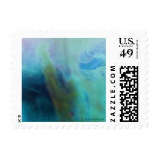 © P Wherrell Mermaid abstract figure ocean sea Postage Stamp