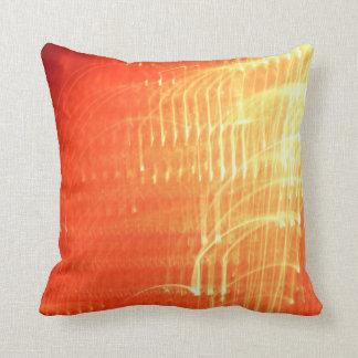 © P Wherrell Musical notes contemporary abstract Throw Pillow