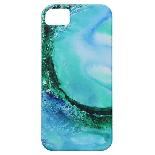© P Wherrell Ocean lover fine art wave blue green iPhone SE/5/5s Case