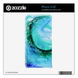 © P Wherrell Ocean lover fine art wave blue green iPhone 4 Skins