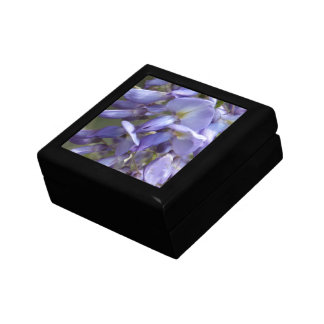 © P Wherrell Purple wisteria fine art photo Gift Box