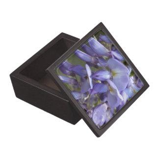 © P Wherrell Purple wisteria fine art photo Premium Trinket Box