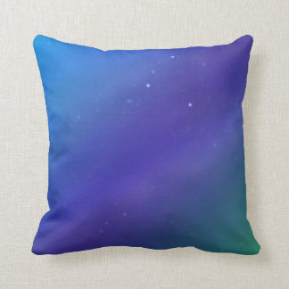© P Wherrell Starry night blues Fine Art photo Throw Pillow