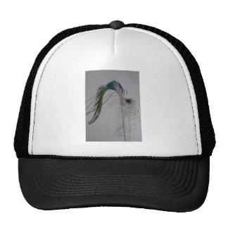 © P Wherrell Stylish fine art peacock feathers Trucker Hat