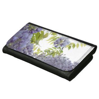 © P Wherrell Stylish Fine art photograph wisteria Wallets For Women