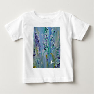 © P Wherrell Stylish trendy impressionist bluebell Baby T-Shirt