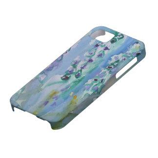 © P Wherrell Stylish trendy impressionist bluebell iPhone 5 Cases
