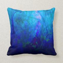 © P Wherrell Summer Dreams impressionist landscape Pillows