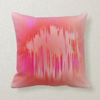 © P Wherrell Trendy digital Fine art pink abstract Pillow