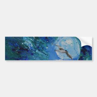 © P Wherrell Trendy fine art painting seagull Car Bumper Sticker