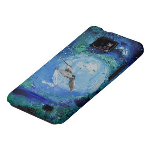 © P Wherrell Trendy fine art painting seagull Galaxy SII Cases