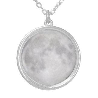 © P Wherrell Trendy full moon astrology photo Custom Necklace