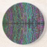 © P Wherrell Trendy geometric abstract pattern Beverage Coasters