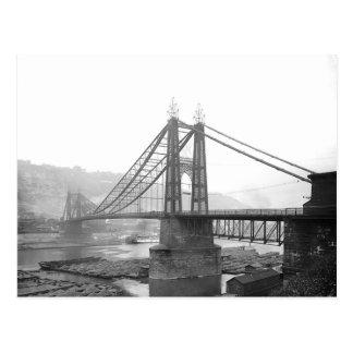 PA 1900 de Pittsburgh del puente de Pointe. Postal