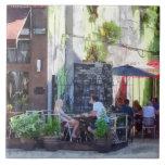 PA al aire libre de Philadelphia del café Azulejos